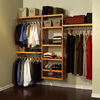 Paradise Closets and Storage, Honey Maple Shelving