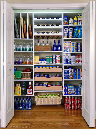 Paradise closets and storage pantry storage shelving for Kitchen pantry closet organizers